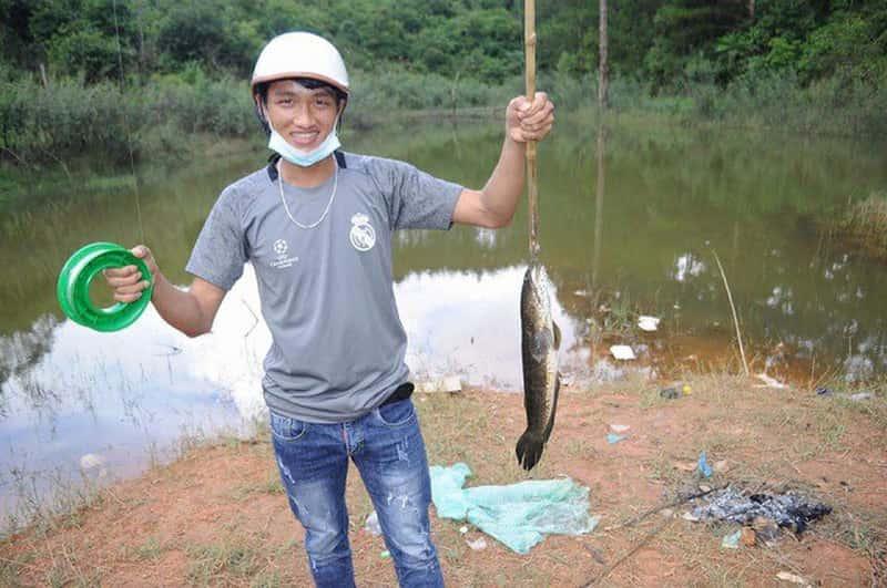 đi câu cá lóc